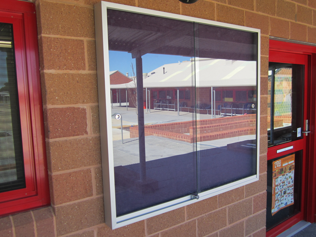 Glass Front Noticeboards 187 Cathedral Office Products
