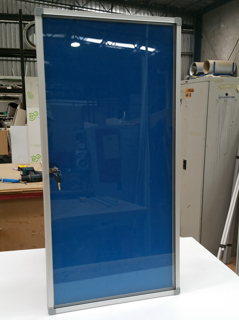 Plastic Panels For Cabinet Doors : Single door acrylic fronted cabinet cathedral office
